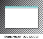 simple browser window on... | Shutterstock .eps vector #222420211