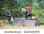 ta phin  lao cai  vietnam   sep ... | Shutterstock . vector #222420355