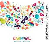 celebration seamless pattern... | Shutterstock .eps vector #222439894