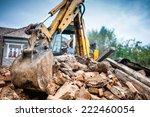 Hydraulic Crusher Excavator...