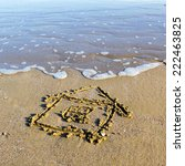 House  Drawn In The Sand