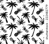 exotic seamless pattern with... | Shutterstock .eps vector #222482779
