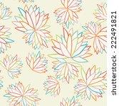 seamless floral pattern   Shutterstock .eps vector #222491821