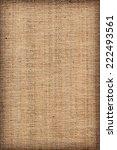 photograph of unprimed linen... | Shutterstock . vector #222493561