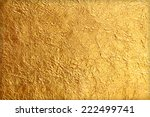 shiny yellow leaf gold foil... | Shutterstock . vector #222499741