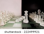 photographed on a chess board | Shutterstock . vector #222499921