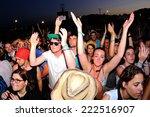 benicassim  spain   july 17 ... | Shutterstock . vector #222516907
