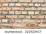 grunge brick wall texture...   Shutterstock . vector #222523417