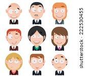 vector avatar | Shutterstock .eps vector #222530455
