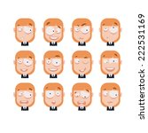 avatar set | Shutterstock .eps vector #222531169