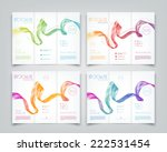 vector collection of tri fold... | Shutterstock .eps vector #222531454
