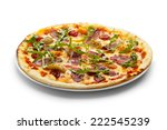 Duck Meat Pizza With Dried...