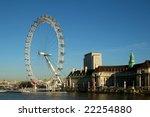 london eye  london england