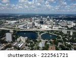 aerial view of the thriving... | Shutterstock . vector #222561721