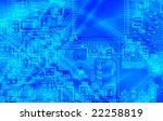 high technology   computer...   Shutterstock . vector #22258819