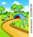 play park for children  | Shutterstock . vector #222588769
