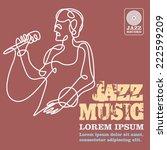 jazz | Shutterstock .eps vector #222599209