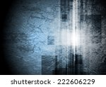 grunge tech background. vector...
