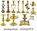 Collection Of Antique Candle...
