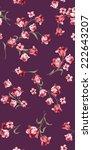 flower pattern | Shutterstock . vector #222643207