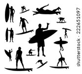 Vector Silhouette Of People Wh...