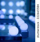 some led lamps blue light...   Shutterstock . vector #222665584