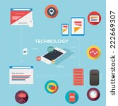 technology icons | Shutterstock .eps vector #222669307
