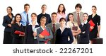 smiling  business people.... | Shutterstock . vector #22267201