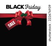 black friday sale background... | Shutterstock .eps vector #222676939