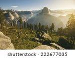 Yosemite Valley And Half Dome...