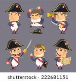 napoleon bonaparte emperor of... | Shutterstock .eps vector #222681151