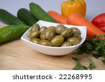 green olives | Shutterstock . vector #22268995