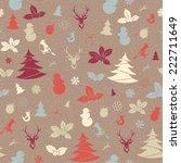 vector illustration festive... | Shutterstock .eps vector #222711649