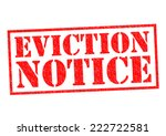 Eviction Notice Red Rubber...