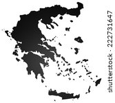 high detailed carbon map  ... | Shutterstock . vector #222731647