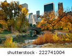 Central Park Autumn And...