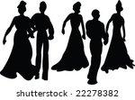 dance   vector | Shutterstock .eps vector #22278382