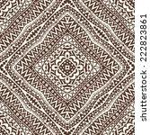 contrast seamless geometric... | Shutterstock .eps vector #222823861