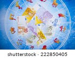 astrology and money | Shutterstock . vector #222850405