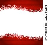 illustration christmas frame... | Shutterstock .eps vector #222858205