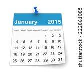 Calendar 2015   January