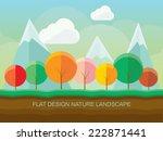 Modern Flat Design Nature...