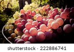 White And Red Wine Grapes In...