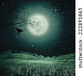 Halloween Night On The Spooky...