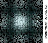 abstract green pixel art style... | Shutterstock .eps vector #222937561