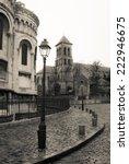 montmartre  paris | Shutterstock . vector #222946675
