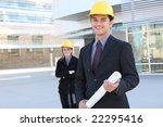 an attractive business team... | Shutterstock . vector #22295416