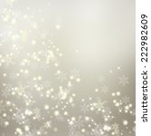 snowflake  background | Shutterstock . vector #222982609
