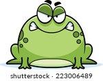 a cartoon illustration of a... | Shutterstock .eps vector #223006489