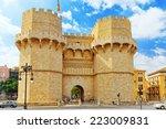 Towers Of Serranos In  Valenci...